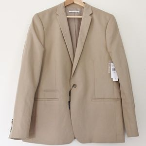 NWT🔥Men's CK Summer Wedding Tan Suit🔥